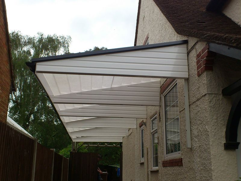 Walkway Cantilever Bungalow Canopy