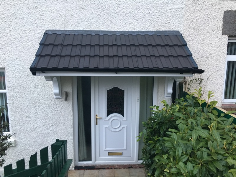Cottage Door Canopy