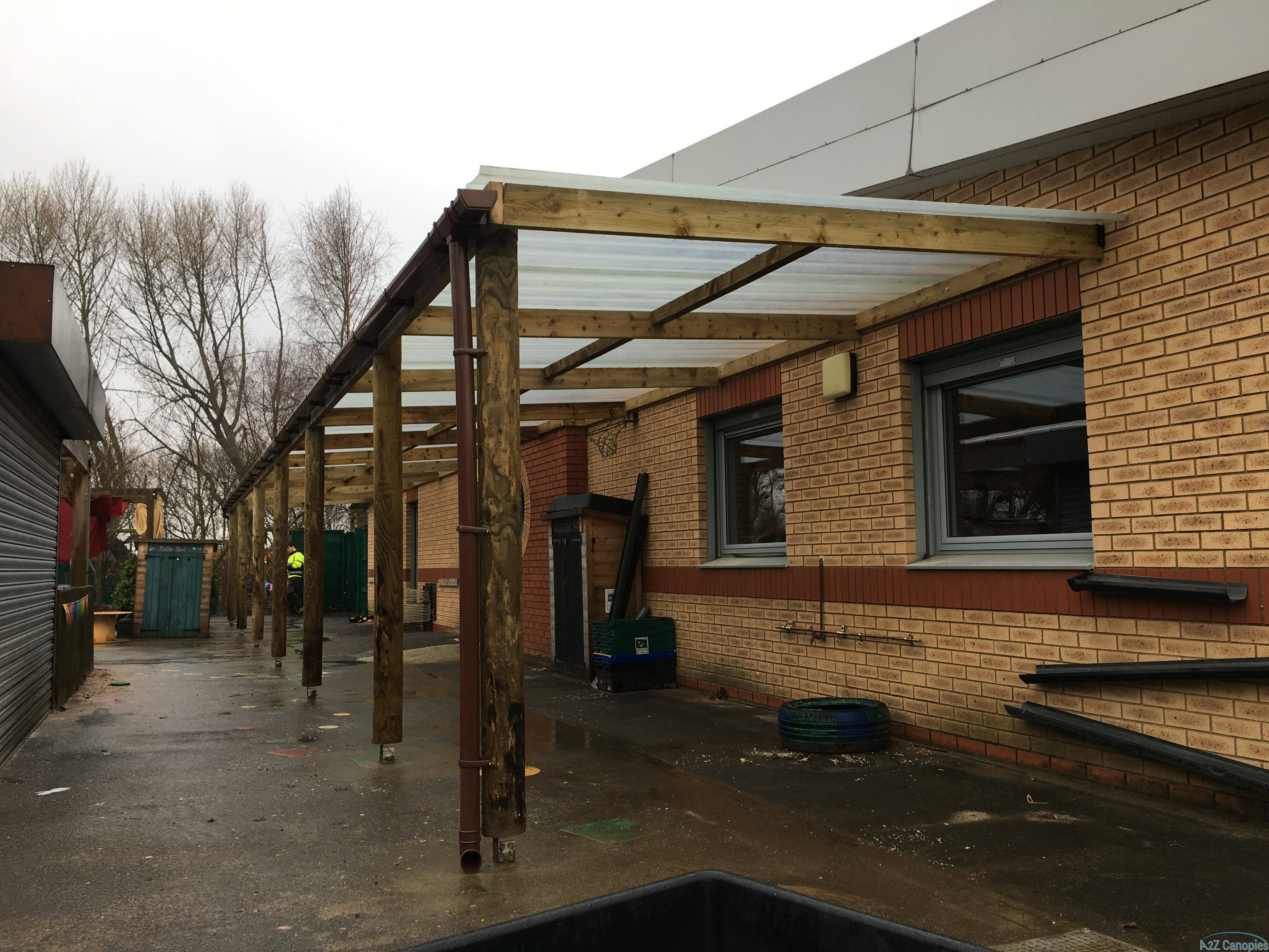 School Wooden Canopy