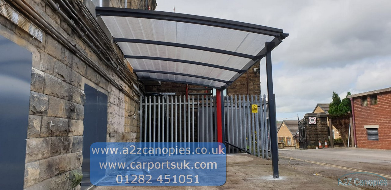 Smoking Shelter Canopy by A2z Canopies
