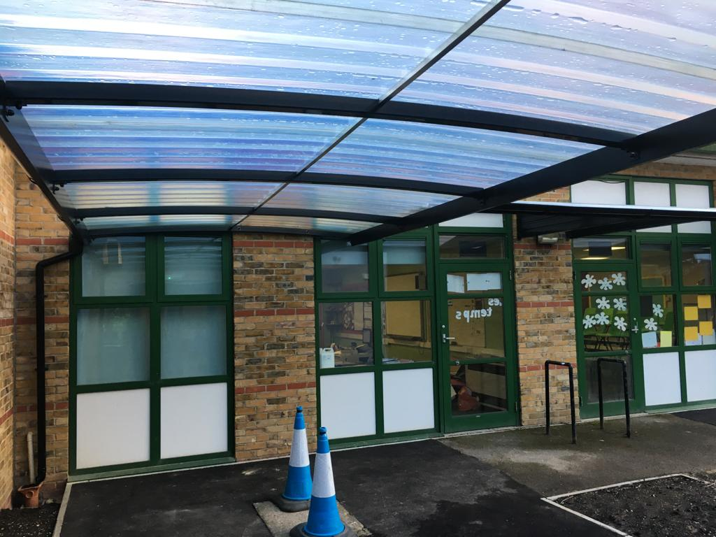 Canopy Customer Shelter