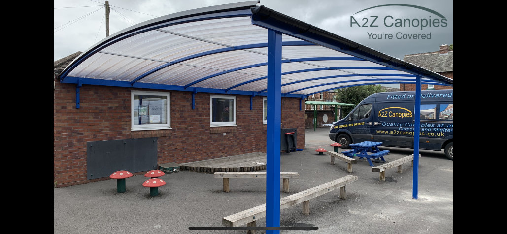 School Canopy Example White