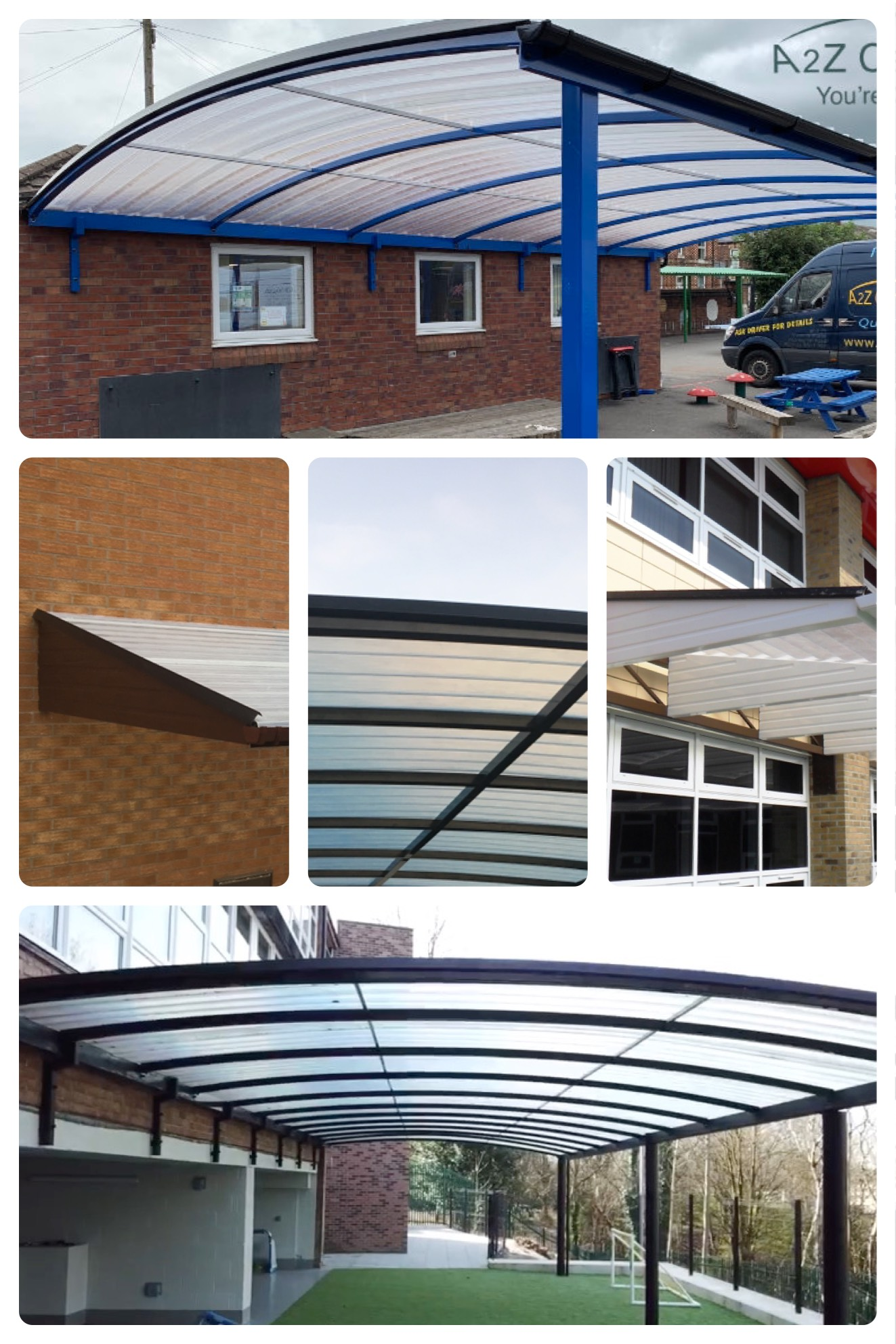 School canopy installations
