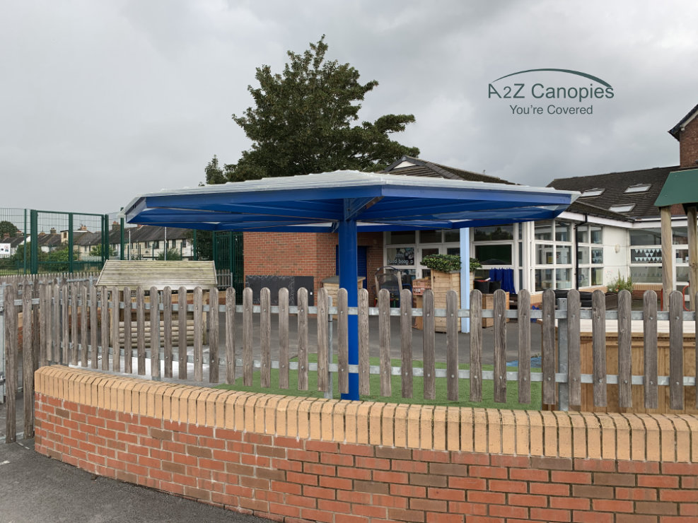 School Umbrella Canopy Example