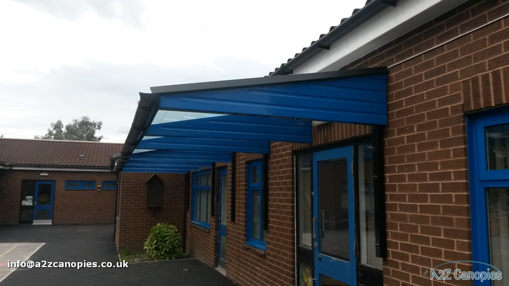 Blue School Canopy Example
