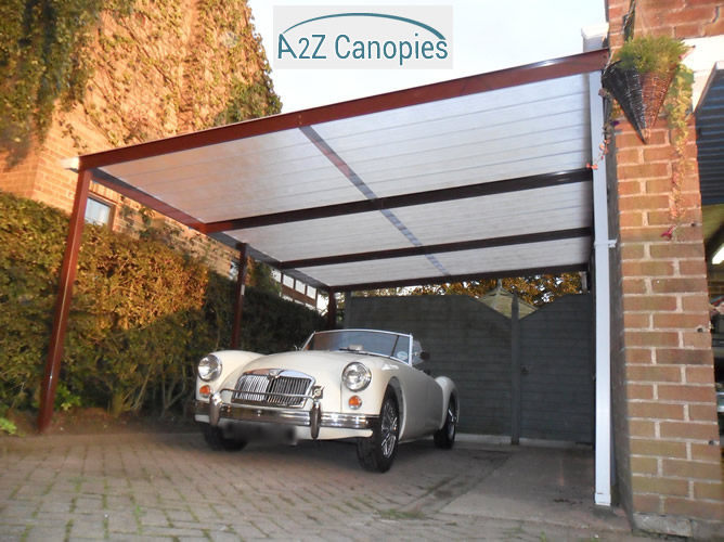 Lean to carports canopies lean to carports carports for Car lean to