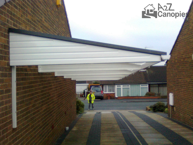 ... Cantilever Carport For Long Driveway & Cantilever Carport For Long Driveway-A2z Canopies -2018