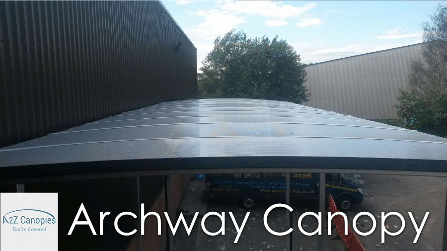 5M Tall Archway Canopy