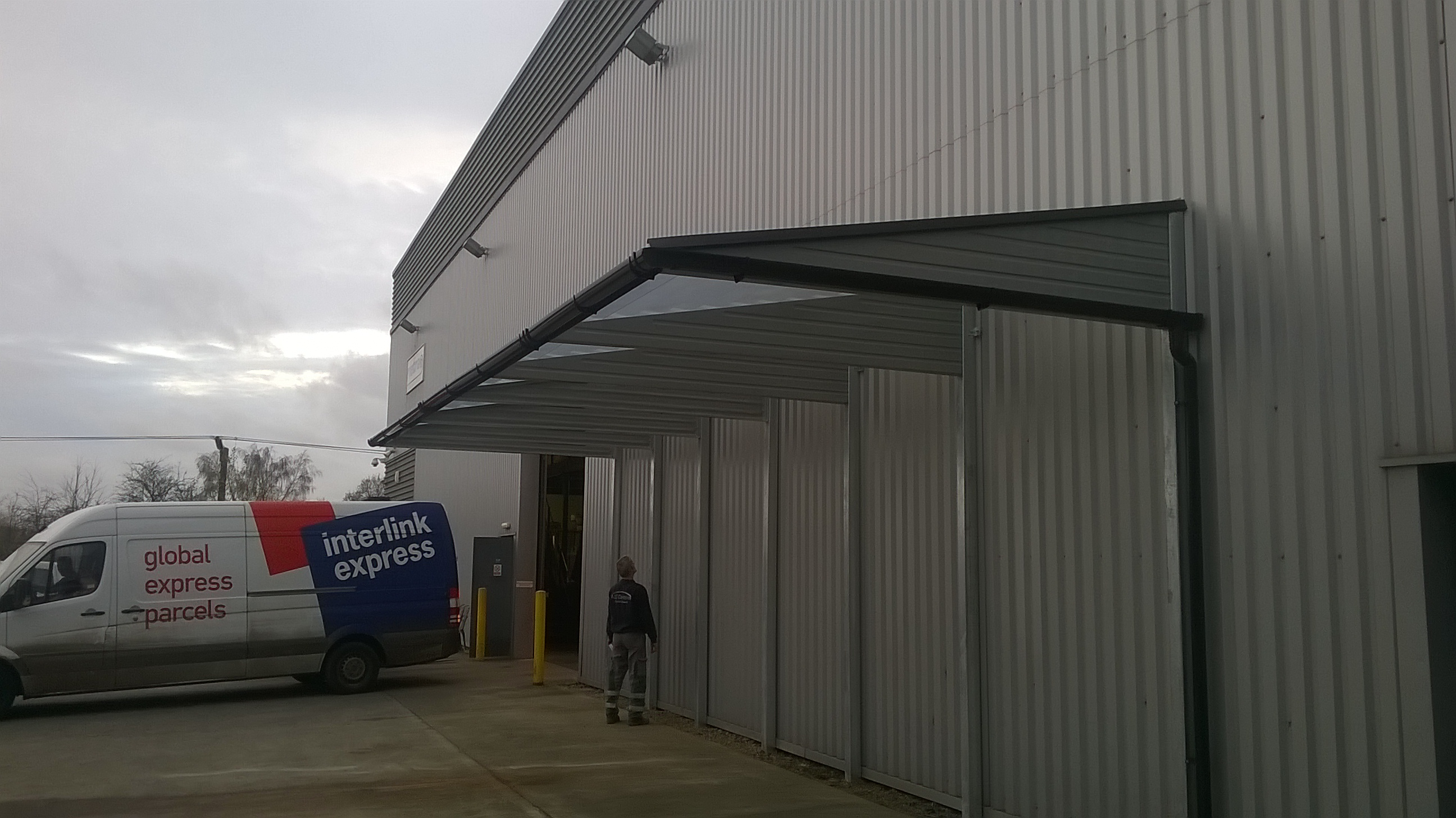 Commercial GPR cantilevered Canopy ... & A2z Canopies -A2z Canopies -2018